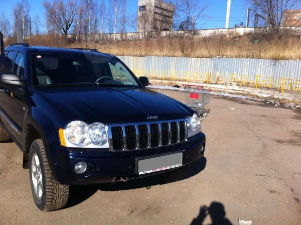 Jeep Grand Cherokee, 2006 год, 800 000 руб.