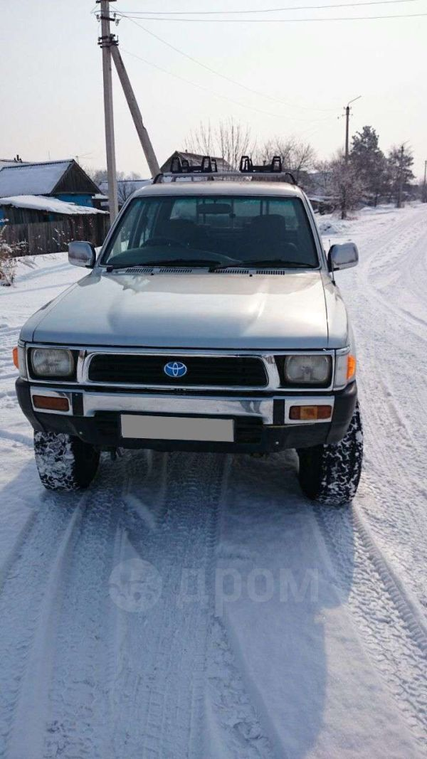Toyota Hilux Pick Up, 1991 год, 600 000 руб.