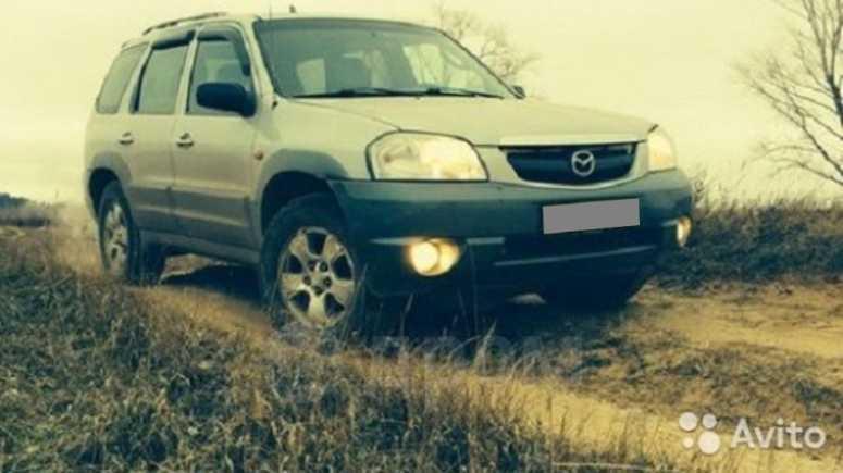Mazda Tribute, 2001 год, 295 000 руб.