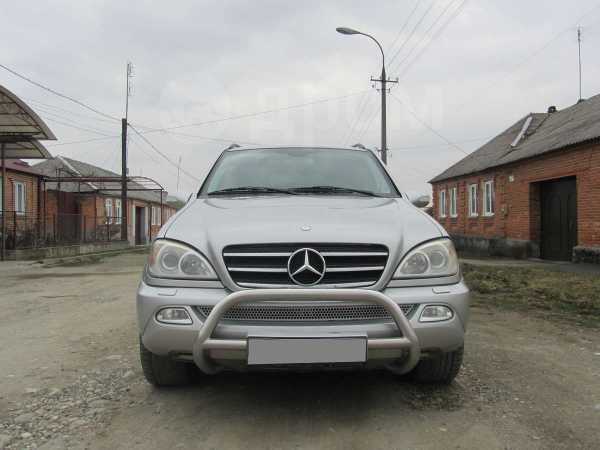 Mercedes-Benz M-Class, 2003 год, 620 000 руб.