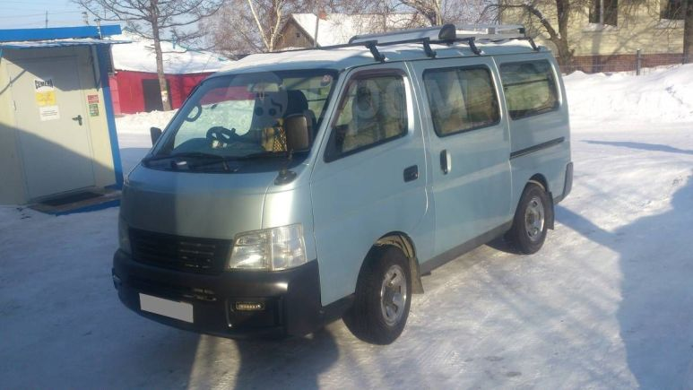 Nissan Caravan, 2002 год, 330 000 руб.