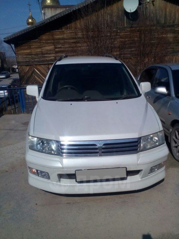 Mitsubishi Chariot, 1999 год, 150 000 руб.