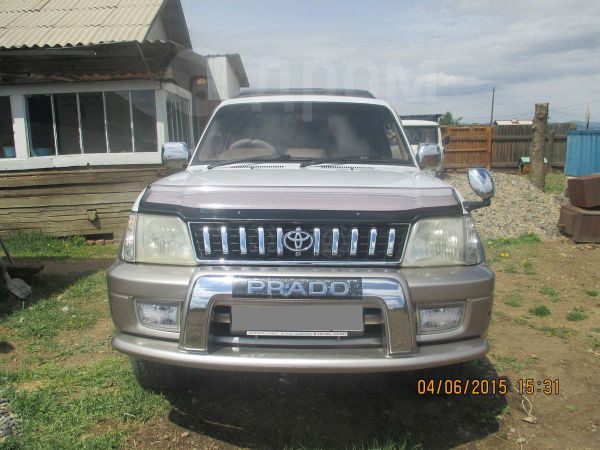 Toyota Land Cruiser Prado, 2001 год, 830 000 руб.
