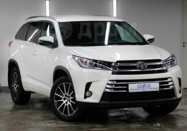 Toyota Highlander, 2019 год, 3 410 000 руб.