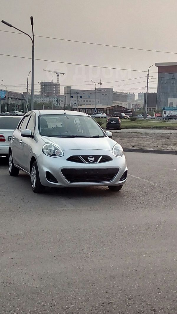 Nissan March, 2015 год, 500 000 руб.