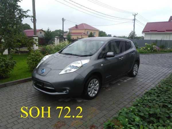 Nissan Leaf, 2013 год, 465 000 руб.