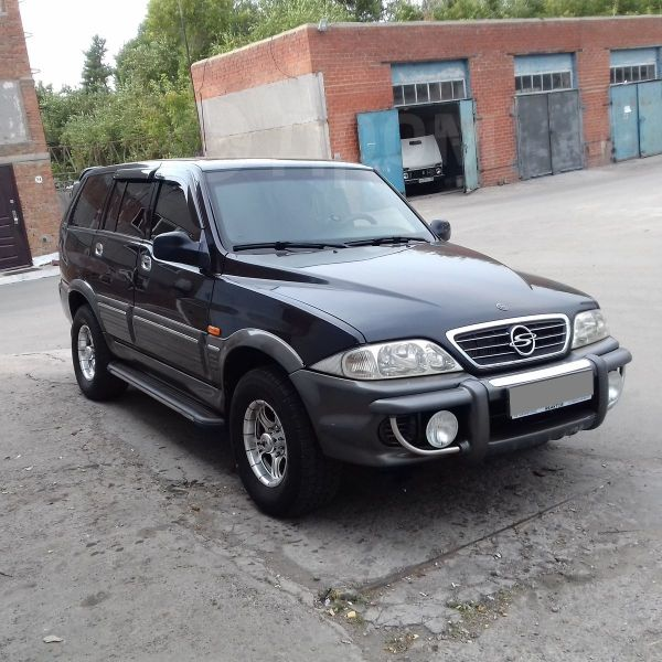 SsangYong Musso, 2001 год, 410 000 руб.