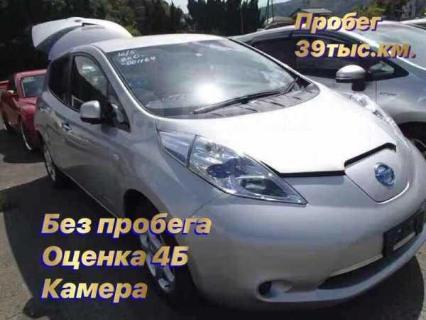 Nissan Leaf, 2011 год, 399 999 руб.