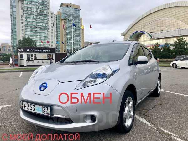Nissan Leaf, 2011 год, 455 000 руб.