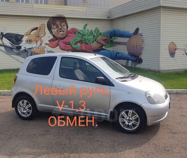 Toyota Yaris, 2001 год, 235 000 руб.