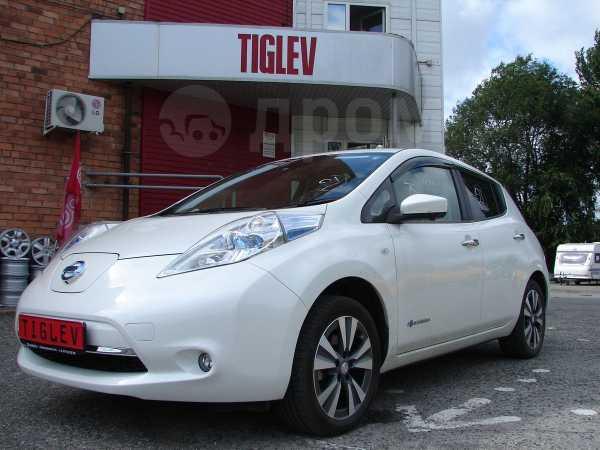 Nissan Leaf, 2015 год, 1 100 000 руб.