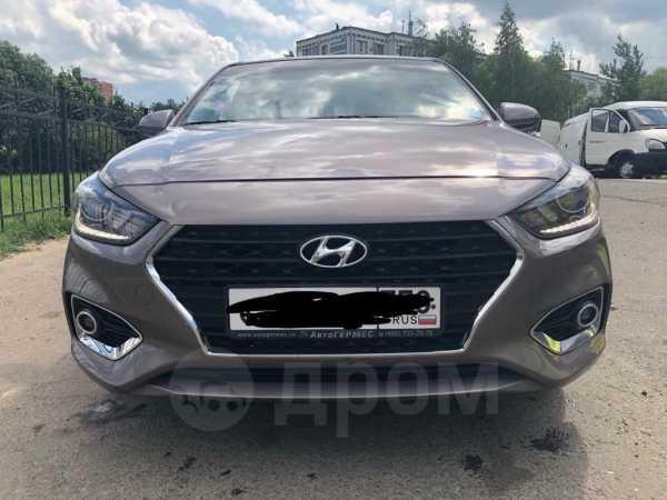 Hyundai Solaris, 2018 год, 825 000 руб.