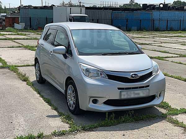 Subaru Trezia, 2013 год, 525 000 руб.