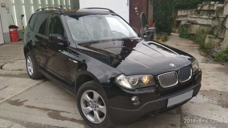 BMW X3, 2007 год, 590 000 руб.