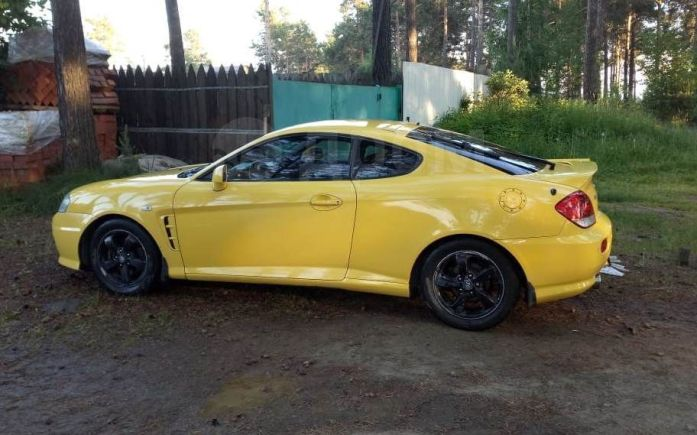 Hyundai Coupe, 2005 год, 399 900 руб.
