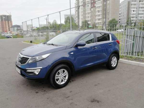 Kia Sportage, 2012 год, 755 000 руб.
