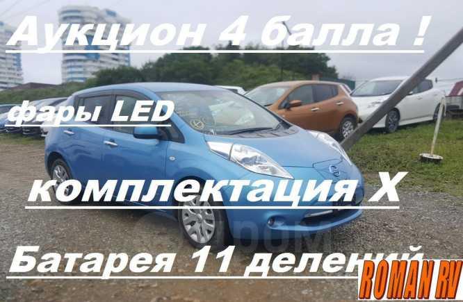 Nissan Leaf, 2014 год, 510 000 руб.