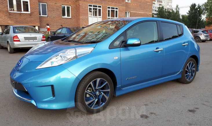 Nissan Leaf, 2014 год, 855 000 руб.