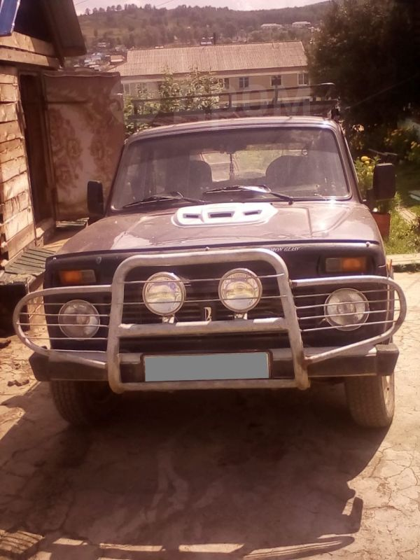 Лада 4x4 2121 Нива, 2002 год, 180 000 руб.
