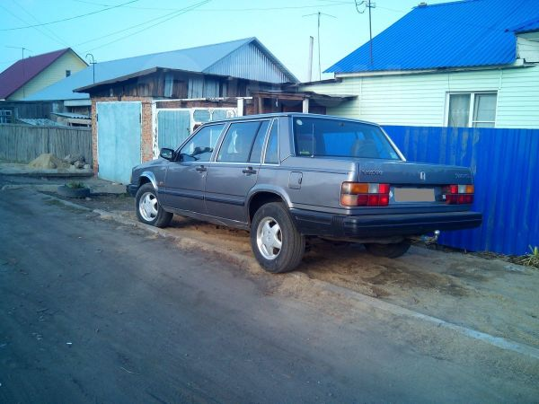 Volvo 740, 1990 год, 65 000 руб.
