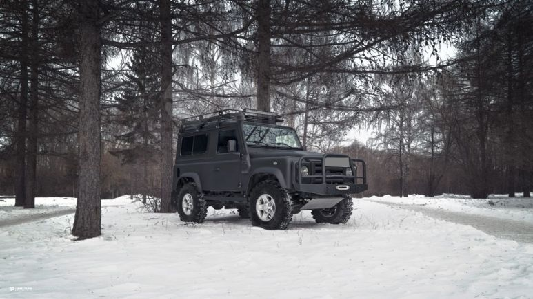 Land Rover Defender, 2008 год, 1 320 000 руб.