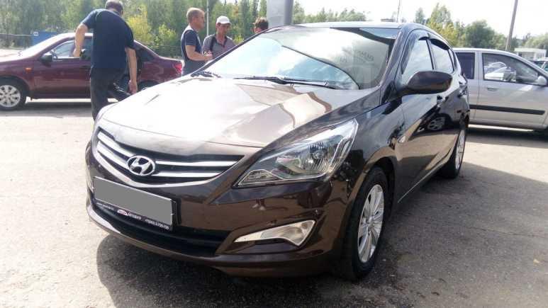 Hyundai Solaris, 2015 год, 488 000 руб.