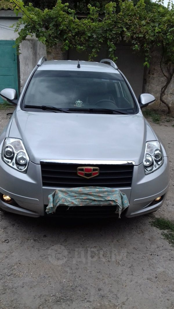 Geely Emgrand X7, 2015 год, 580 000 руб.