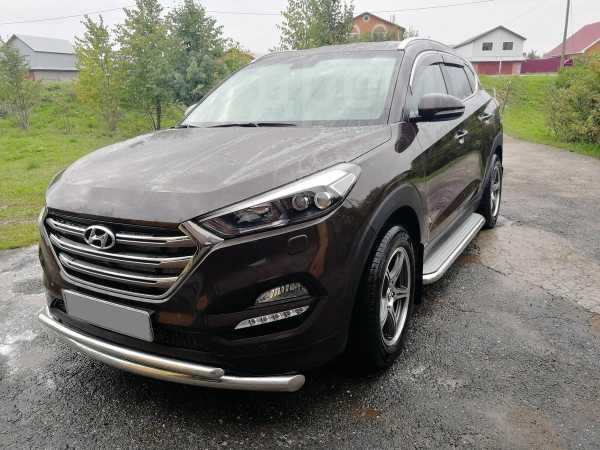 Hyundai Tucson, 2017 год, 1 565 000 руб.