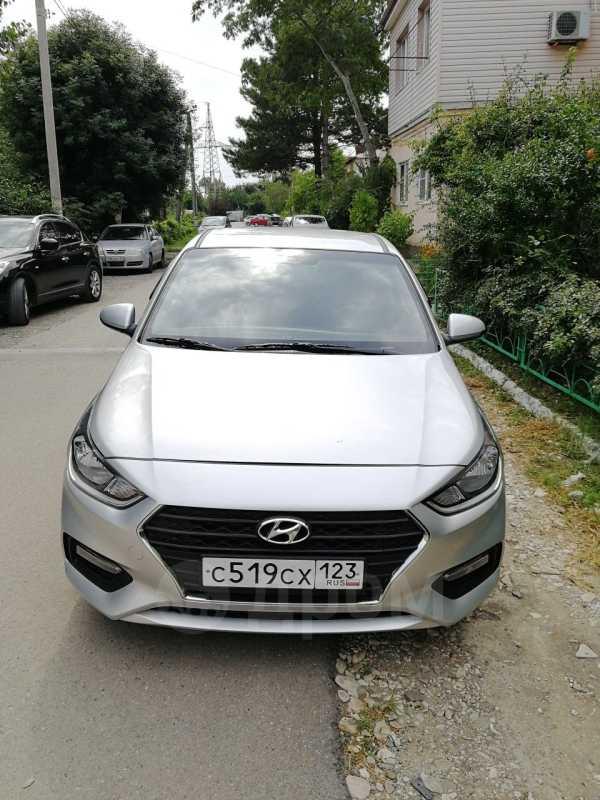 Hyundai Solaris, 2017 год, 640 000 руб.