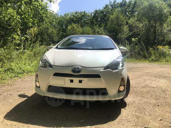 Toyota Aqua, 2014 год, 545 000 руб.