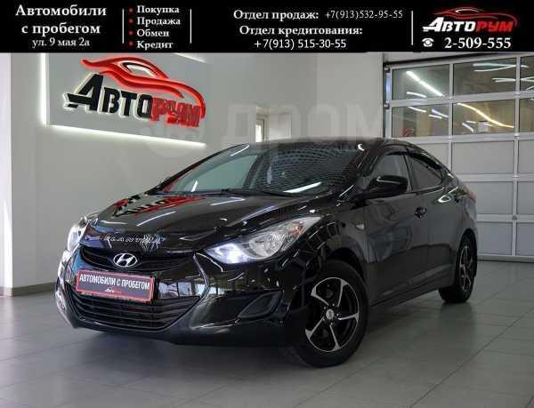 Hyundai Elantra, 2012 год, 597 000 руб.