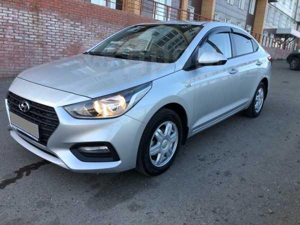 Hyundai Solaris, 2018 год, 847 000 руб.