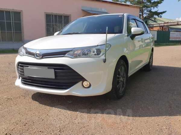 Toyota Corolla Fielder, 2016 год, 675 000 руб.