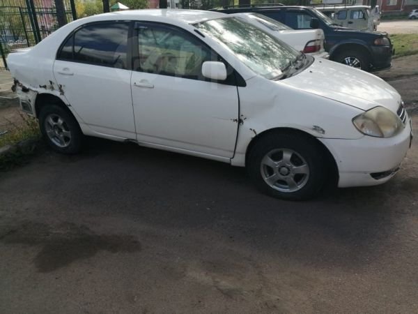 Toyota Corolla, 2002 год, 180 000 руб.