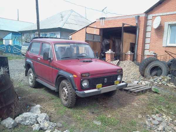 Лада 4x4 2121 Нива, 1995 год, 125 000 руб.
