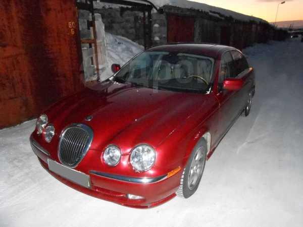 Jaguar S-type, 2001 год, 480 000 руб.