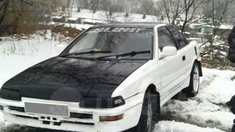 Toyota Sprinter Trueno, 1989 год, 89 000 руб.