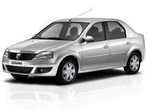 Dacia Logan рестайлинг 2008, седан, 1 поколение