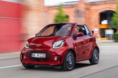 Обновленные модели Smart: теперь только электрические и наполовину китайские