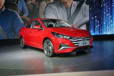 В Китае дебютировал обновленный Hyundai Solaris (ФОТО)