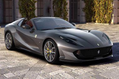 Ferrari представила самый мощный серийный кабриолет на планете