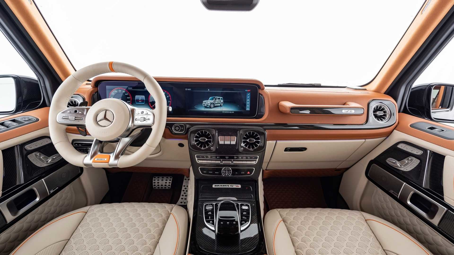 Mercedes-Benz G-Class получил мощнейший двигатель V12 от Brabus. Цена шокирует