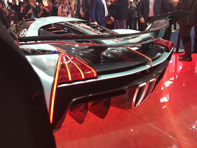 Китайцы разработали суперкар динамичнее Bugatti Chiron
