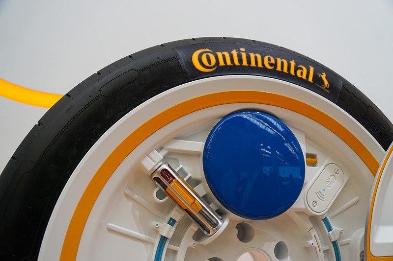 Continental представил умные самоподкачивающиеся шины