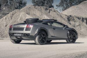 Уникальный внедорожный Lamborghini Gallardo выставили на продажу