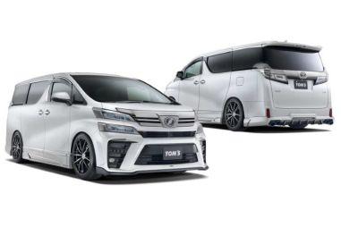 Для Toyota Vellfire выпустили обвес под спорт