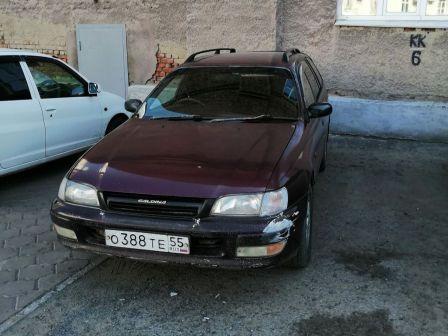 Toyota Caldina 1992 - отзыв владельца
