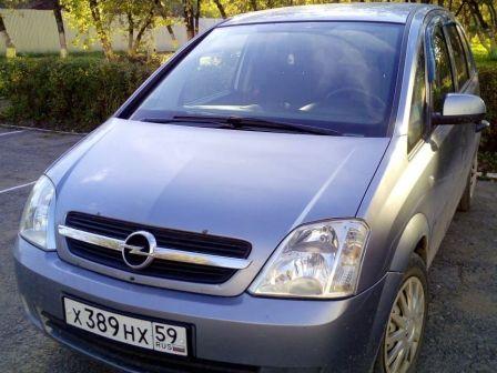 Opel Meriva 2005 - отзыв владельца