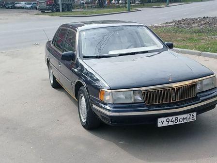 Lincoln Continental 1991 - отзыв владельца
