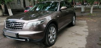 Кызыл Infiniti FX35 2007